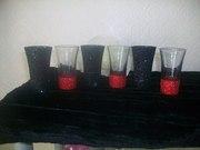 glitter glasses / girft sets